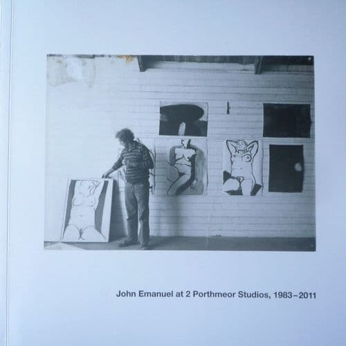 John Emanuel At 2 Porthmeor Studios Rare Signed Book