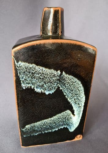 Peter Swanson Tenmoku Slabbed Bottle Pot