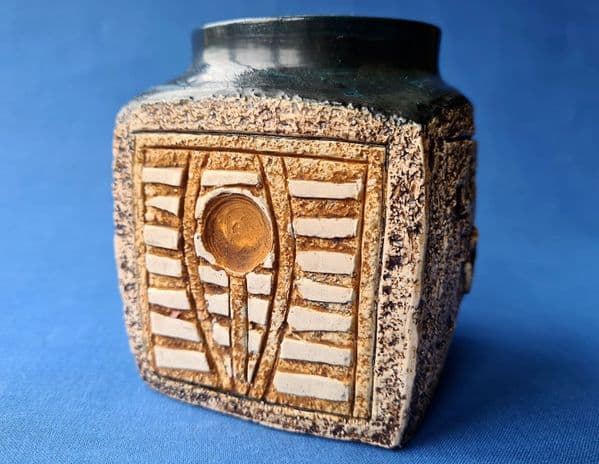 Troika Pottery Marmalade Pot by Jane Fitzgerald