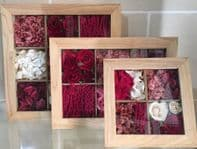 Set of Wall Frames - Red