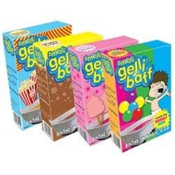 3 x Smelli Gelli Baff Multipack - Smelly Scented Bath Jelly (Popcorn, Fairy Floss & Bubblegum)