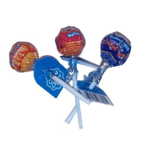 3 x Sugar Free Chupa Chups Lollipop Sweets Lolly 11g