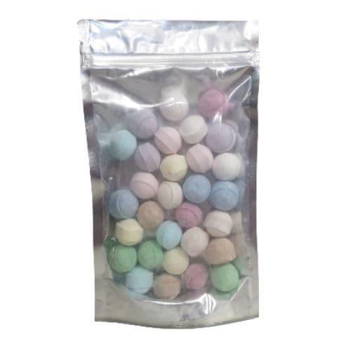 30 x Random Scented Mini Bath Marbles Fizzers - Bath Bubble & Beyond 10g Each