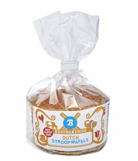 6 x Gluten Free  Stroopwafels Daelmans Best Bakeries 240g Best Before 15/11/20 SALE