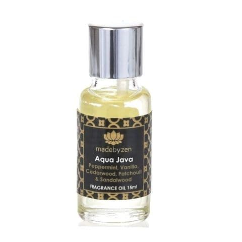 AQUA JAVA - Signature Scented Fragrance Oil Made By Zen 15ml