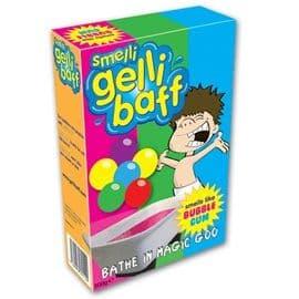 BUBBLEGUM Fragrance Smelli Gelli Baff - Purple Scented Jelly Bath Fun