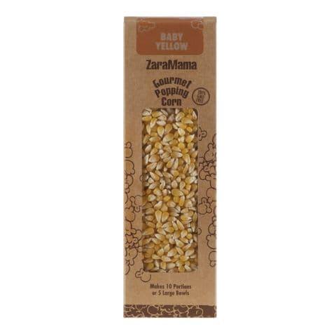 Baby Yellow - ZaraMama Popcorn Gourmet Popping Corn Gift Box 400g