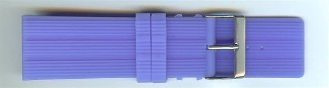 Blue Rubber Watch Strap 28mm