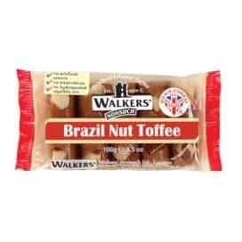 Brazil Nut - Walker's Nonsuch Tray Toffee 100g (10 x Packs)