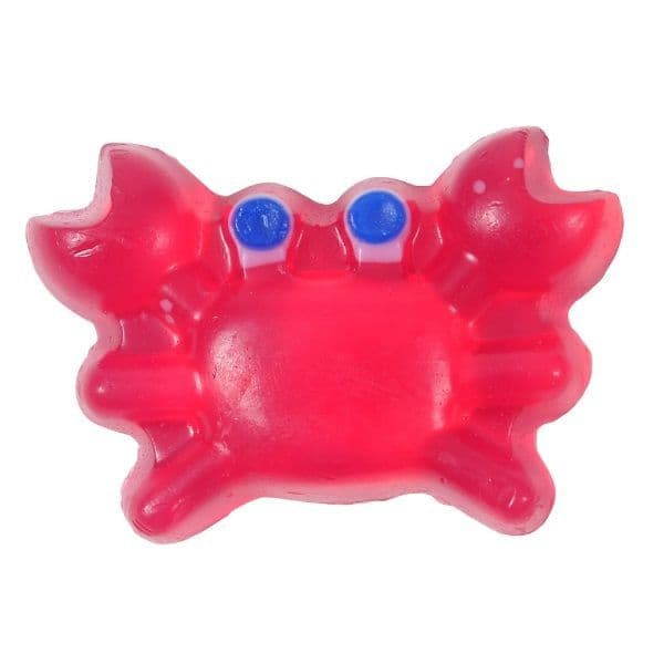 Bubblegum Scented Pink Crab Novelty Soap - Bath Bubble & Beyond 140g