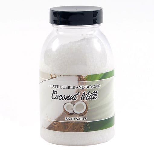 Coconut Milk Non-Foaming Bath Salts - Bath Bubble & Beyond 300g
