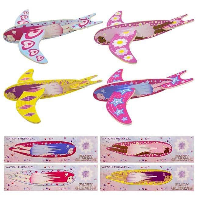 FAIRY Polystyrene Glider - Girls Plane Making Kit