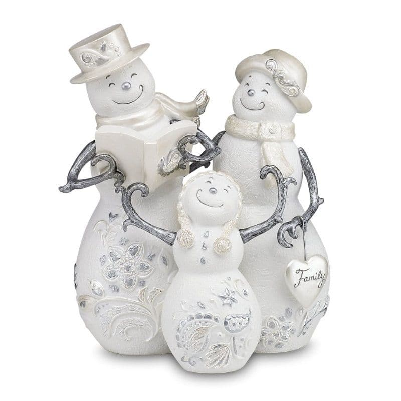 Family 77011 - Perfectly Presented Snowmen Christmas Ornament