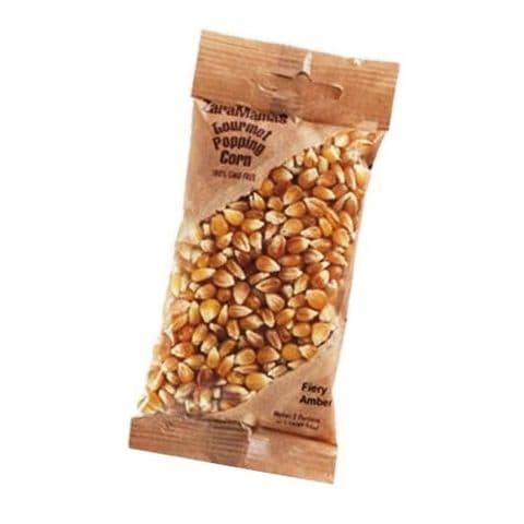 Fiery Amber - ZaraMama Popcorn Gourmet Popping Corn Bag 90g