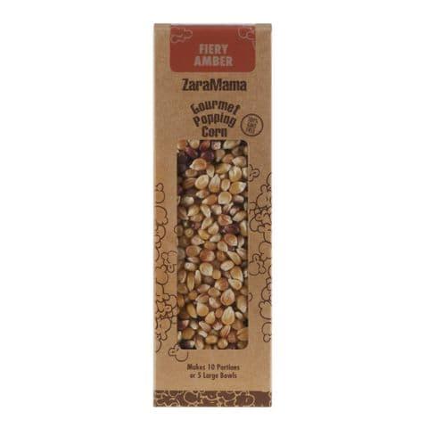 Fiery Amber - ZaraMama Popcorn Gourmet Popping Corn Gift Box 400g