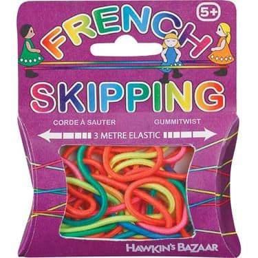 French Skipping Elastic Rope 3m Rainbow Playground Games