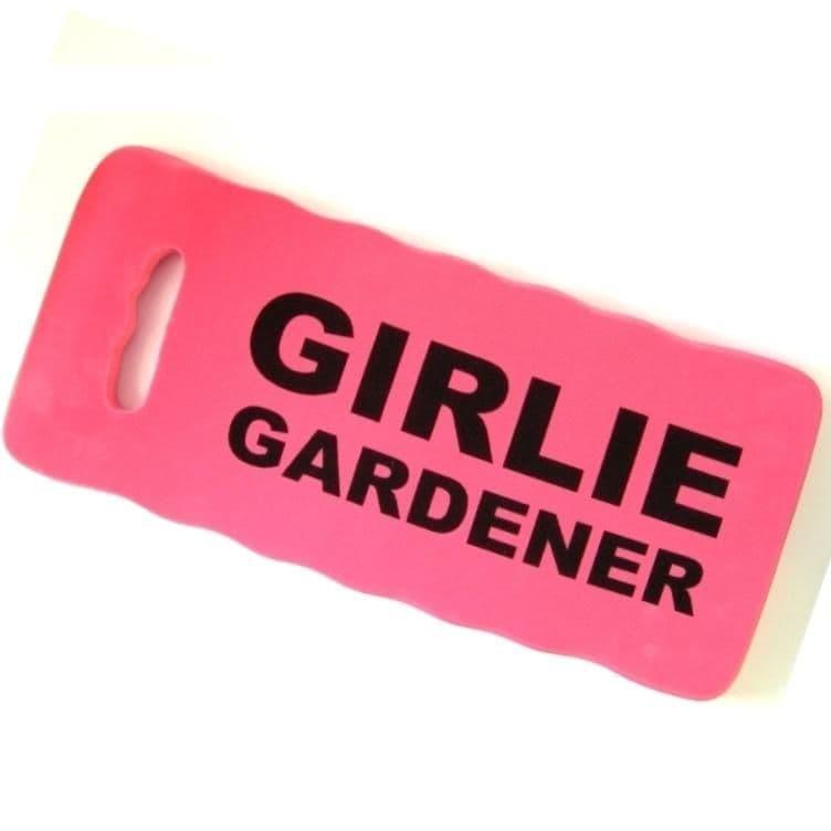 GIRLIE GARDENER - Kneeling Pad For Gardeners - Pink