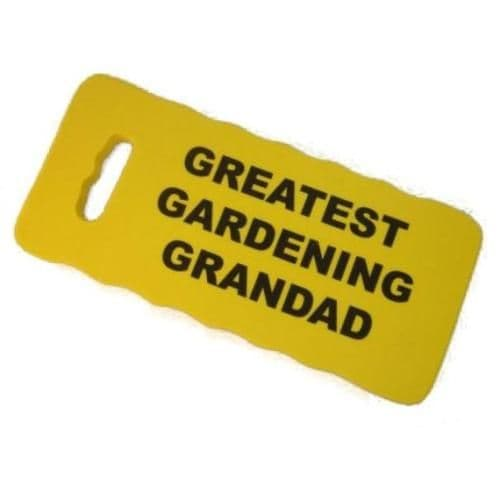 GREATEST GARDENING GRANDAD - Kneeling Pad For Gardeners - Yellow or Green