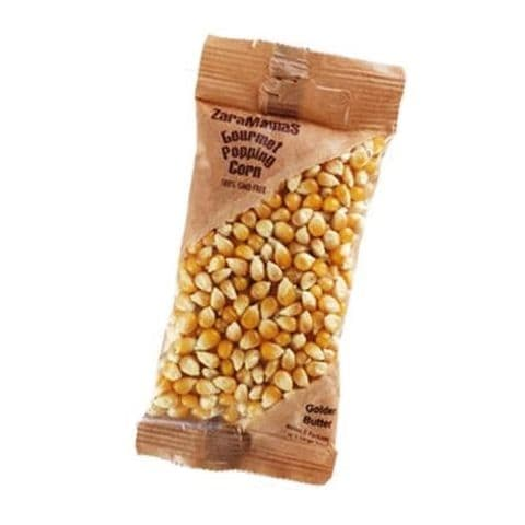 Golden Butter - ZaraMama Popcorn Gourmet Popping Corn Bag 90g