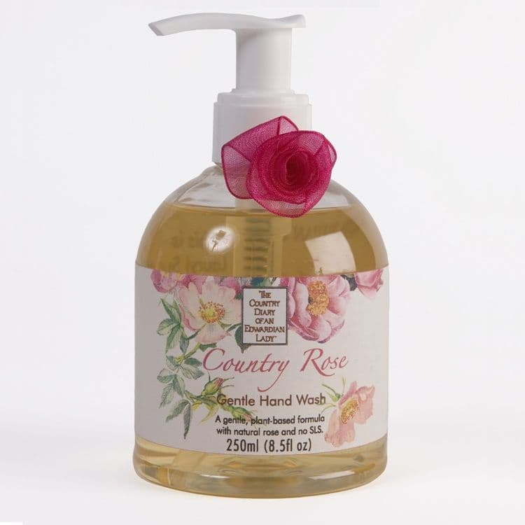 Hand Wash Liquid Soap - COUNTRY ROSE (The Country Diary of an Edwardian Lady) by Norfolk Lavender