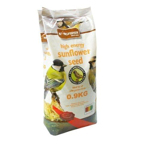 High Energy Whole Sunflower Seeds For Garden Birds Bag Kingfisher Bird Care 900g