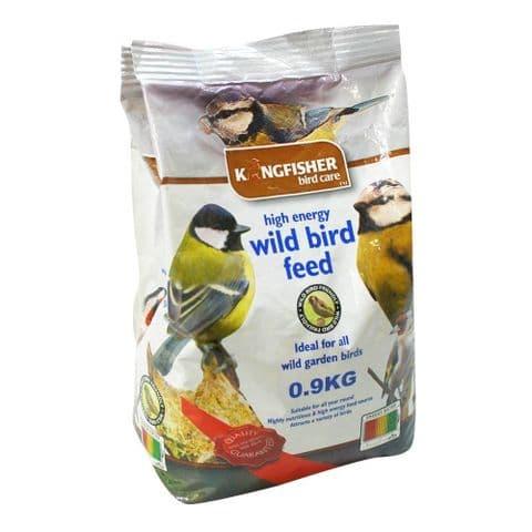 High Energy Wild Bird Feed For Garden Birds Bag Kingfisher Bird Care 900g