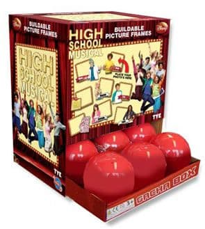 High School Musical 3 Buildable PICTURE FRAME HSM Surprise Lucky Dip Capsule GACHAS - 8 To Collect