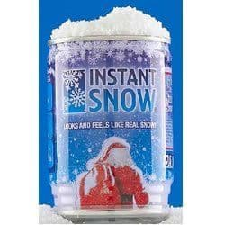 Instant Magic Snow In A Can - Just Add Water - Like Real Snow