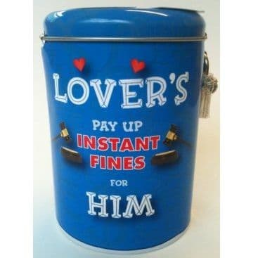 LOVER'S HIM - Instant Fines Tin & Padlock