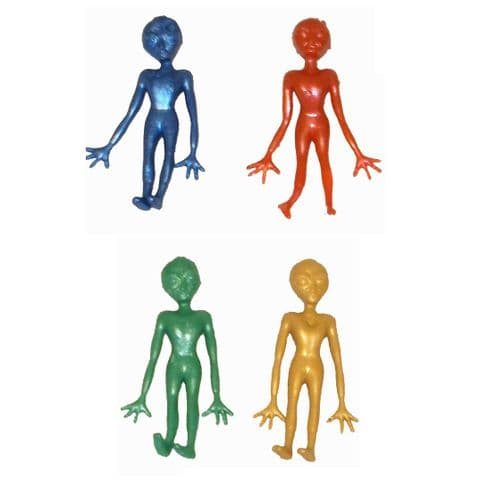 Large Stretchy ALIEN - Assorted Colours (1 Supplied)