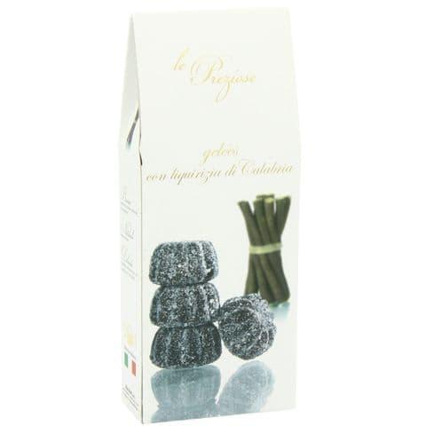 Liquorice Italian Jellies Sweets Le Preziose 200g