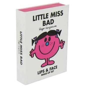 Little Miss BAD - Lips & Face Make-Up Set In Book Case