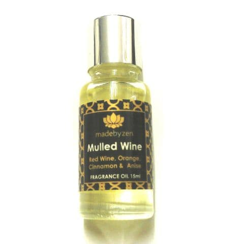MULLED WINE - Signature Scented Fragrance Oil Made By Zen 15ml