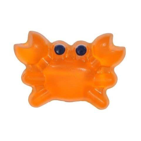 Mango Scented Orange Crab Novelty Soap - Bath Bubble & Beyond 140g