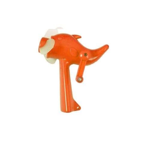 Mini Dolphin Fan - Hand Held Wind Up Power Summer Fun Toy