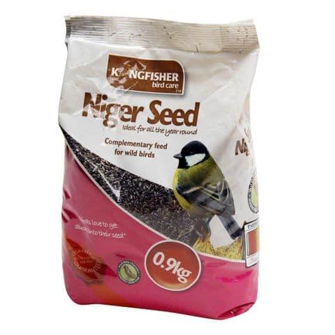 Niger Seeds For Garden Birds Bag Kingfisher Bird Care 900g