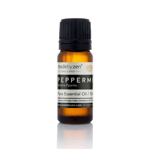 PEPPERMINT - Classic Scented Pure Essential Oil Made By Zen 10ml
