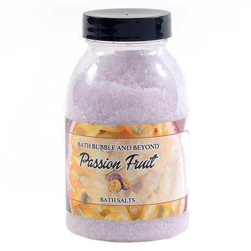 Passion Fruit Non-Foaming Bath Salts - Bath Bubble & Beyond 300g