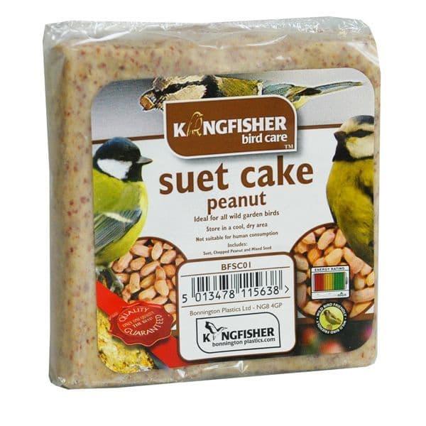 Peanut Suet Cake For Wild Garden Birds Kingfisher Bird Care