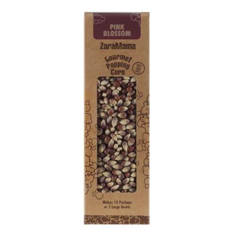 Pink Blossom - ZaraMama Popcorn Gourmet Popping Corn Gift Box 400g