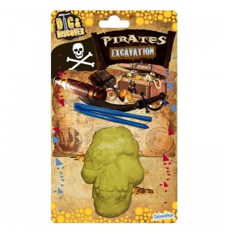 Pirates Excavation - Dig & Discover Science Kit