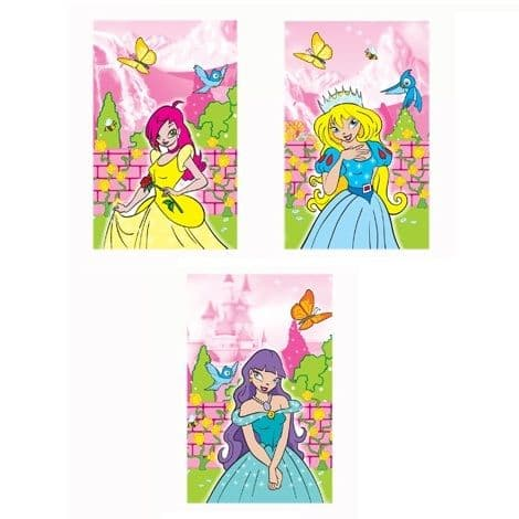Princess Notebook Notepad Jotter - Girls Party Bag Fillers