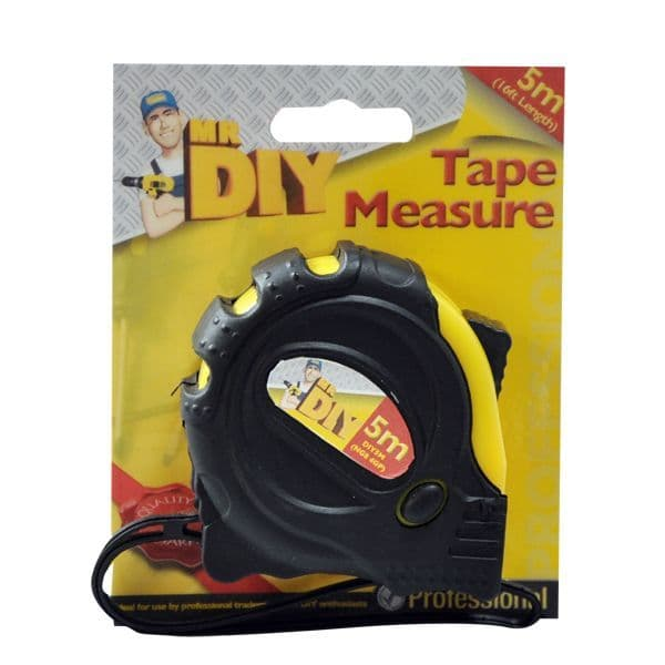 Professional Tape Measure 5M / 16ft - Mr DIY Kingfisher