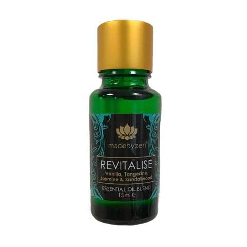 REVITALISE Purity Range - Scented Essential Oil Blend Made By Zen 15ml