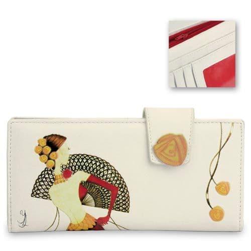 Red Senorita - Leatherette Ladies Wallet / Purse - Yvette Jordan by VANITY FAIR