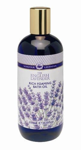 Rich Foaming BATH OIL Essential ENGLISH Norfolk Lavender 350ml