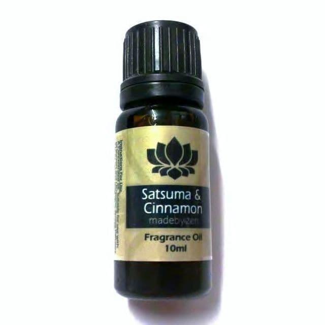 SATSUMA & CINNAMON - Classic Scented Fragrance Oil Made By Zen 10ml