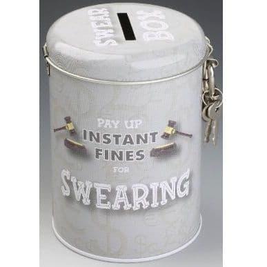 SWEARING - Instant Fines Tin & Padlock