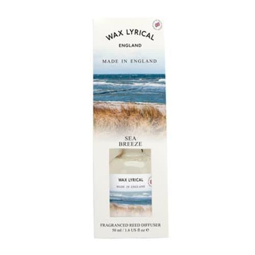 Sea Breeze Fragranced Mini Reed Diffuser Made In England Wax Lyrical 50ml