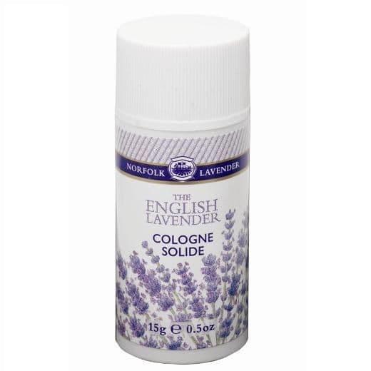 Solid COLOGNE STICK Fragrance ENGLISH Norfolk Lavender 15g